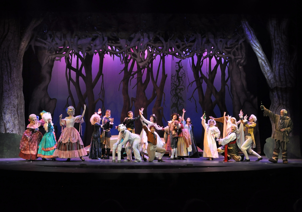 Fairytales collide in 'Into the Woods'