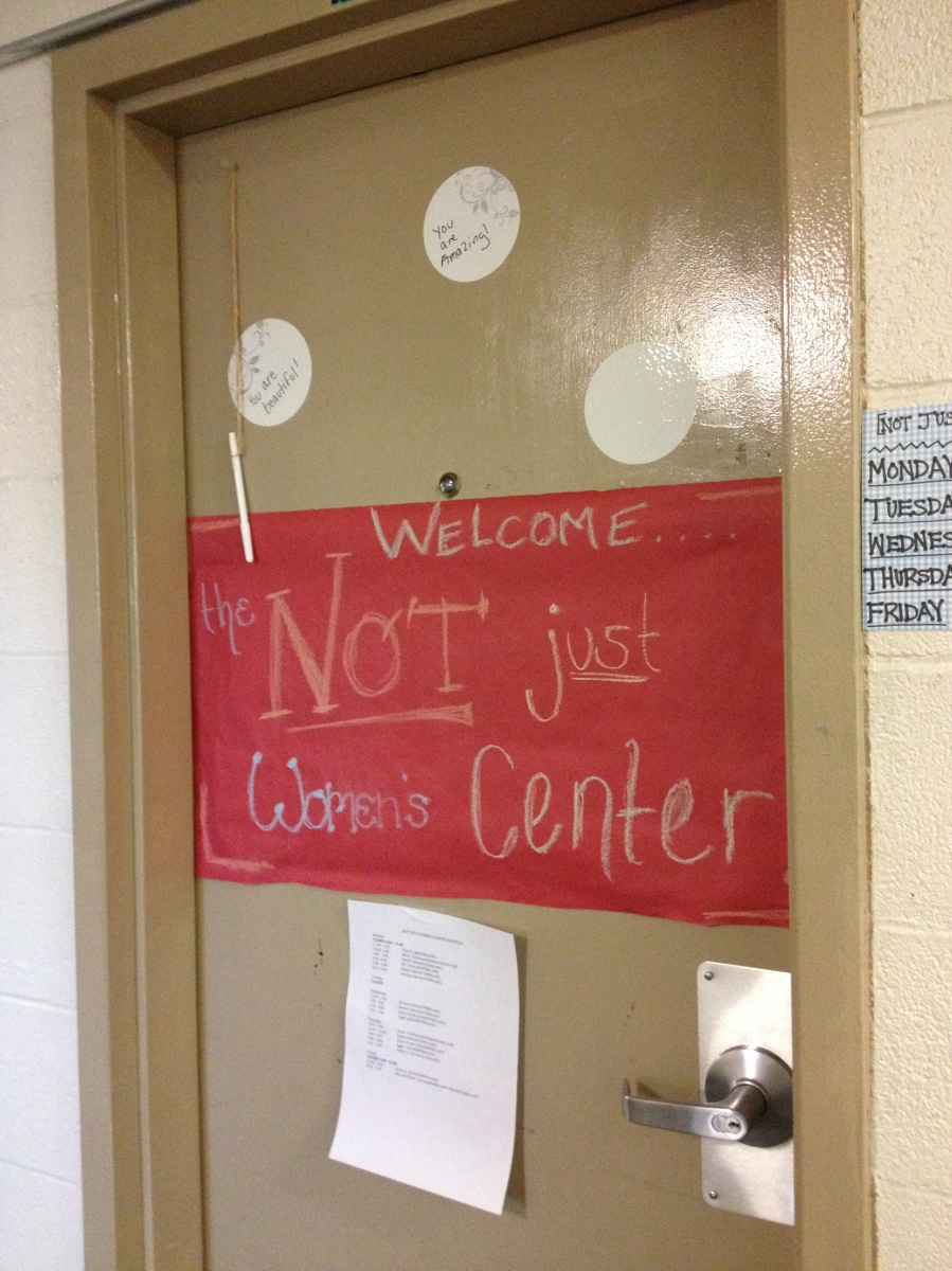 [Not Just] Women's Center opens