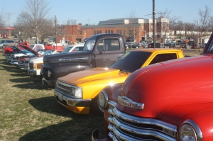 'Doah photo courtesy of Caroline Madden.Shenandoah's chapter of Colleges Against Cancer put on the Cars For a Cause show, where vintage and antique cars were displayed inside the National Guard amory and in front of the Ohrstrom-Bryant Theatre for the community to look at.