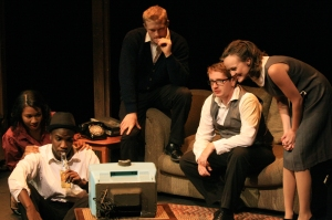 'Doah photo by Caroline Madden 'Side Man' ran from Friday, Sept. 20, to Sunday, Sept. 22 in the Glaize Studio Theatre.