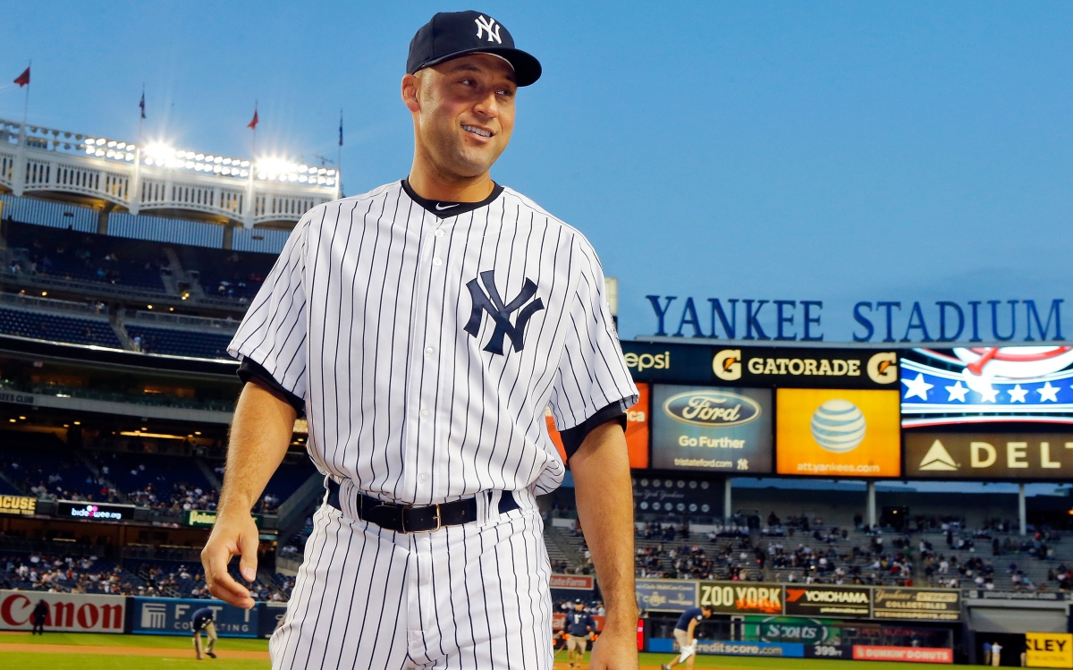 Derek Jeter ends his final season